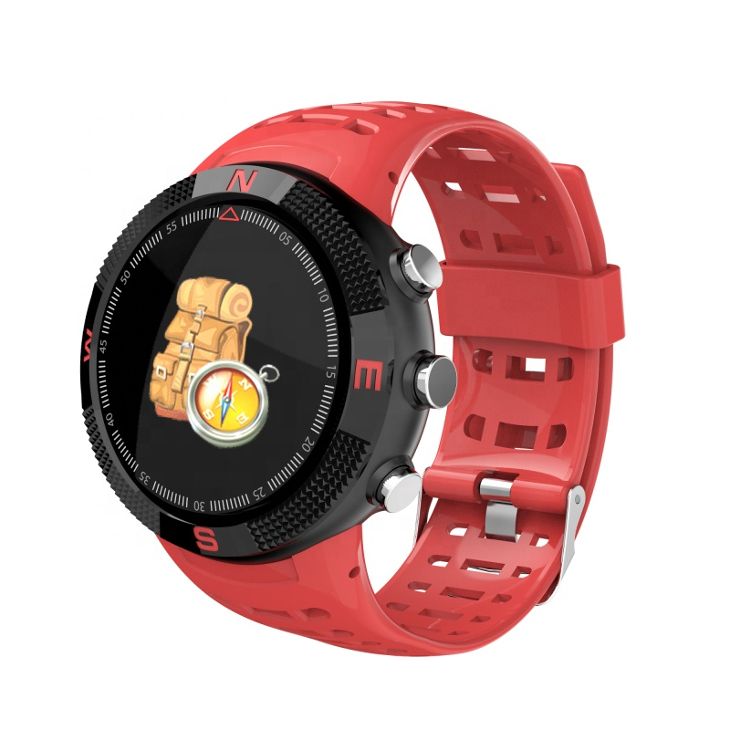 F18 Smartwatch כושר ספורט Tracker BT4.2 IP68 שינה Waterproof צג קצב לב צג GPS חכם שעון