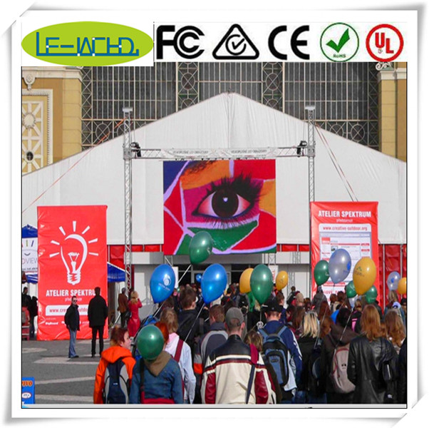 lcd display screen/tv highly waterproof outdoor led display indoor led display screen 6 mm pitch