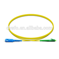 Optical fiber SC-LC/APC simplex single mode fiber optic patch cord