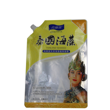 factory outlets resuable straw standing up pouch plastic packing