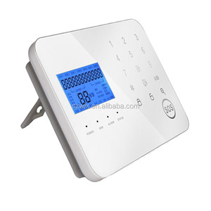 Wireless Home Security Alarm System GSM+PSTN Alarm System Support Android & iOS APP with LCD Screen