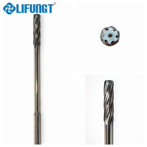 carbide hand machine reamers with spiral flute