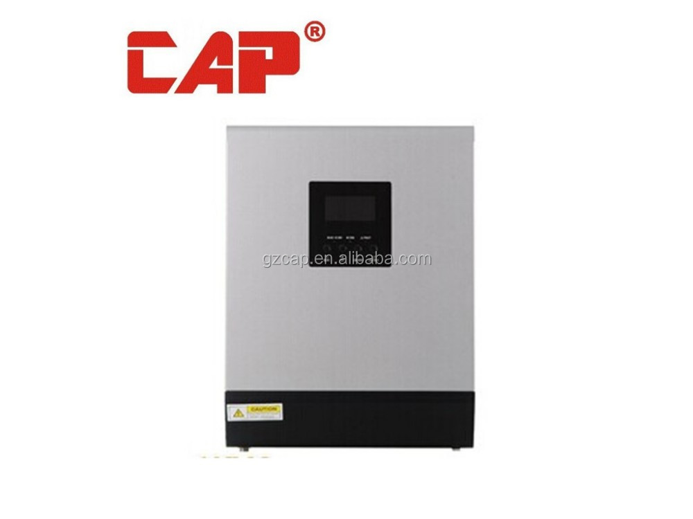 high frequency hybrid solar inverter 5kva/4kw 48vdc 220vac built in mppt solar controller 60a