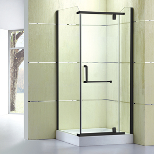 Box Doccia Design.Square Shape Single Open Pivot Box Doccia Glass Door Integral Shower Door