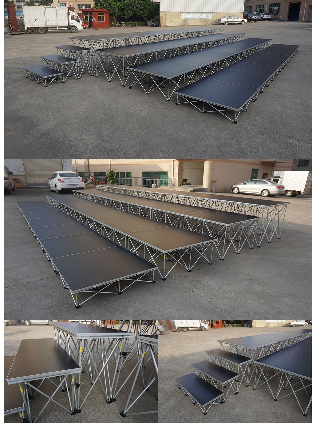 dj flightcase aluminium tafel klaptafel voor dj