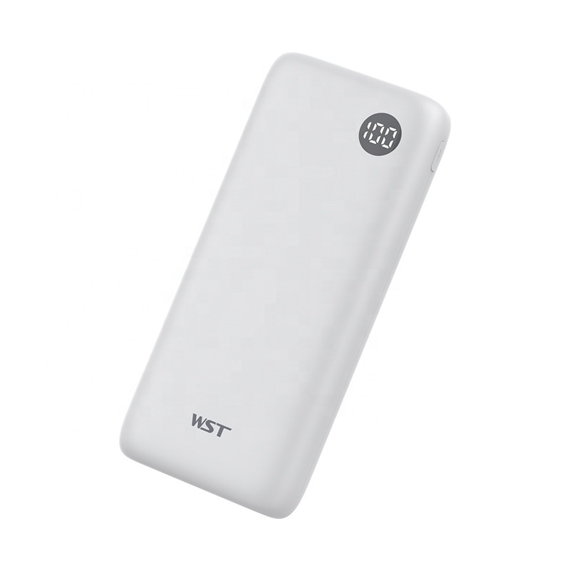 Shenzhen WST newest micro & type-c dual usb cell phone power bank 20000mAh <strong>portable</strong>