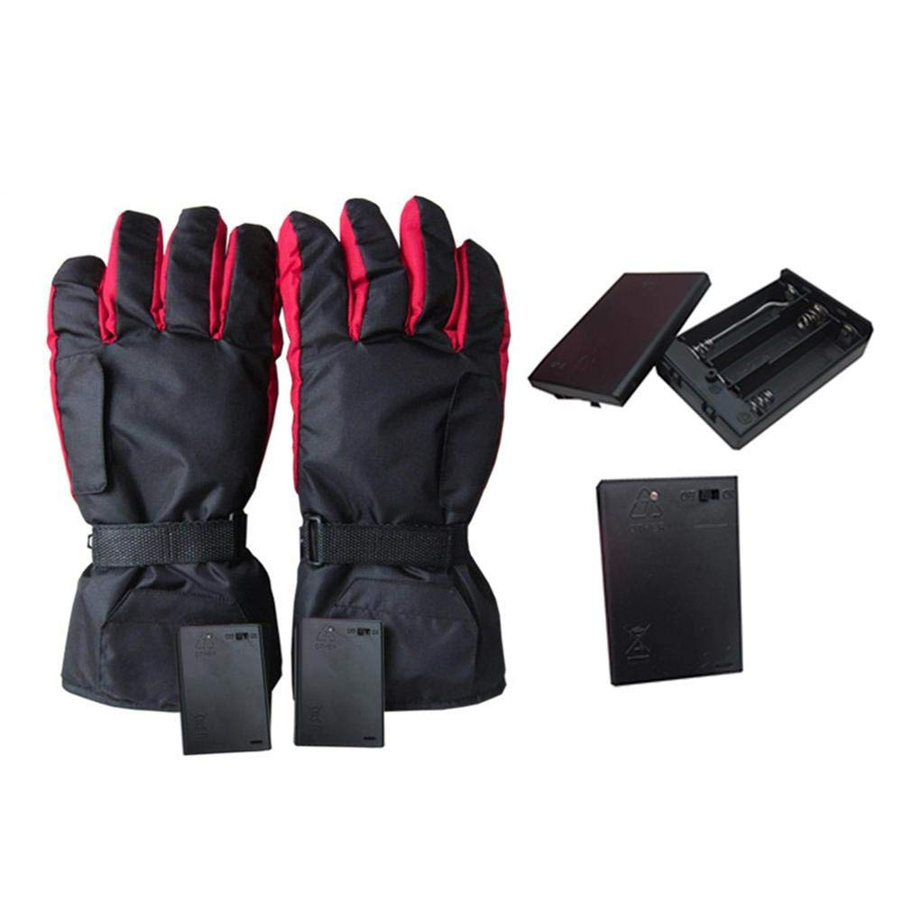 Large Gyde Heated 7.4V Featherweight Womens Gloves Black