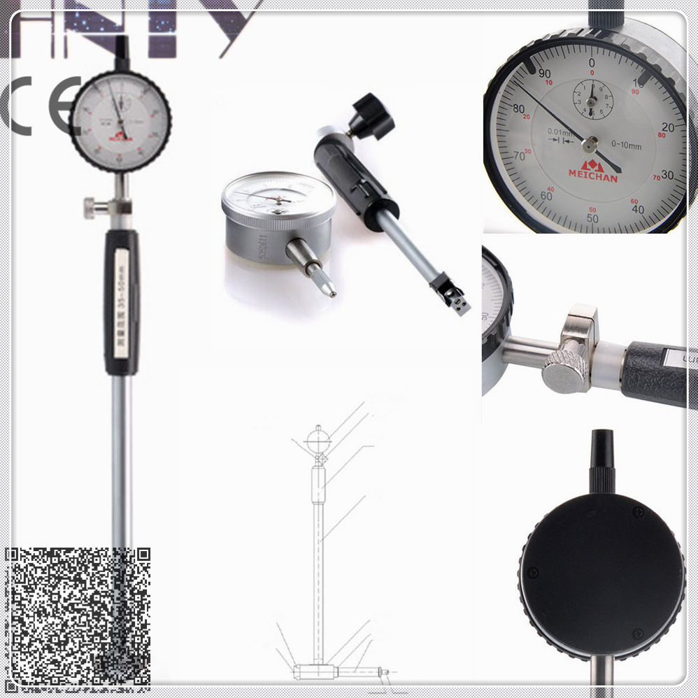6-10mm Aluminum Alloy Gauge meters Inner hole diameter