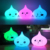 Chic Silicone night light for children, Cute Custom LED night lamp for baby bedroom