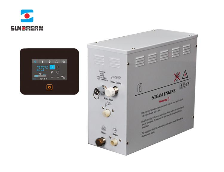 High Quality 3KW 18KW Saunas Room Steam Bath Machine Steam Bath Generator for Hotel Spa Gym Home Commercial Family Use