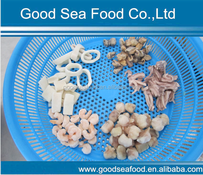 Frozen wholesale IQF seafood mixed