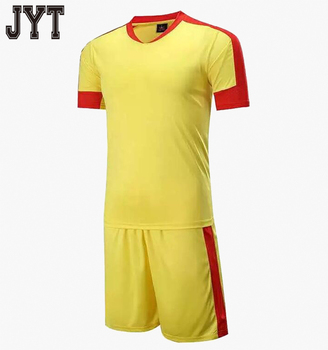 dc097e930 Customized Yellow Red Soccer Jersey Cheap Soccer Jerseys