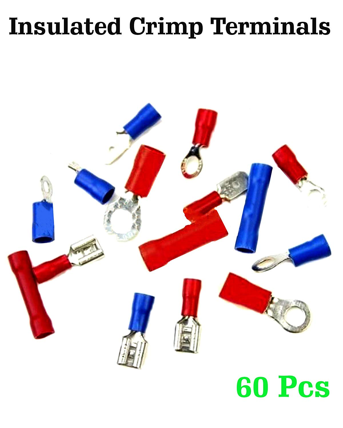 Cheap Hanroot Ring Wire Terminal Find Car Wiring Harness Crimper Get Quotations 60 Pcs Crimp Kit Insulated Connector Terminals Spade Butt Electrical Connectors