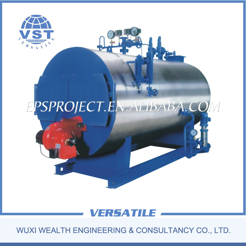 Factory direct sales Fire tube automatically natural gas or diesel fired steam boiler