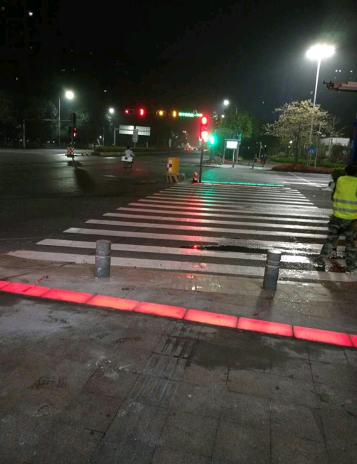 Pedestrian Road Crossing Floor Traffic Lights Buy Floor