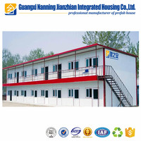New design stainless steel portable house security guard booth prefab/prefabricated house