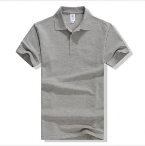 High Quality Customized Various Color Short Sleeve Cotton Cheapest Blank Man Polo T Shirt