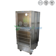 Stainless Steel Oxygen Veterinary Therapy Cage Kennel oxygen cage