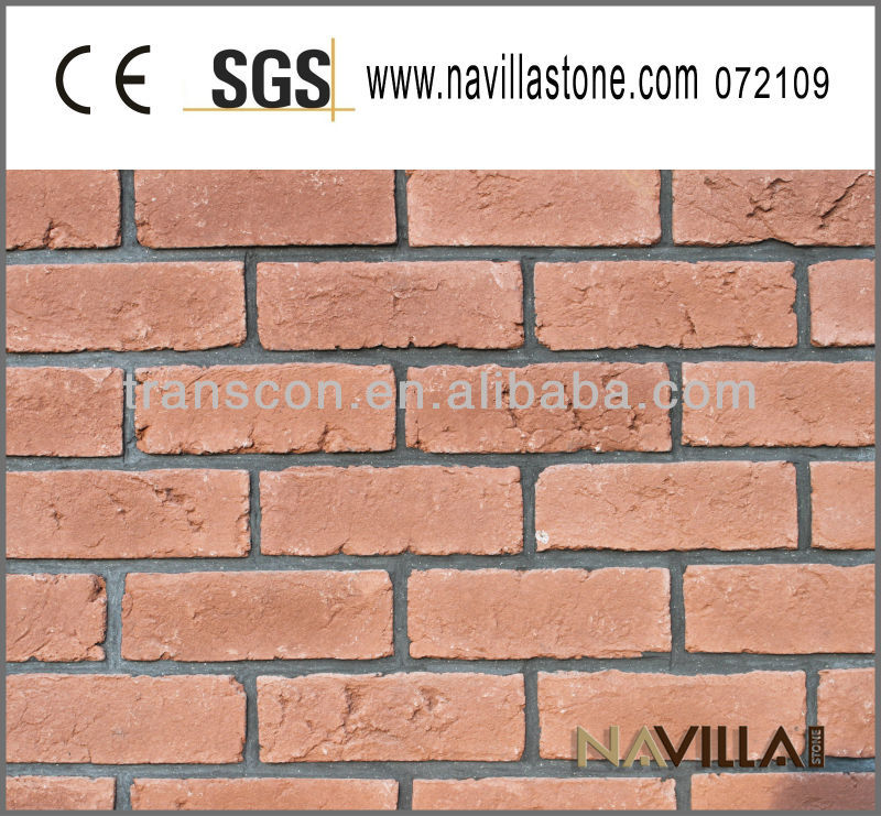 Navilla easy installation old red brick item 072109
