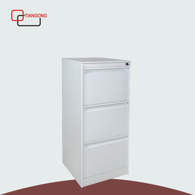 Hot Selling Office Furniture 3 Drawers Steel File Cabinet Design