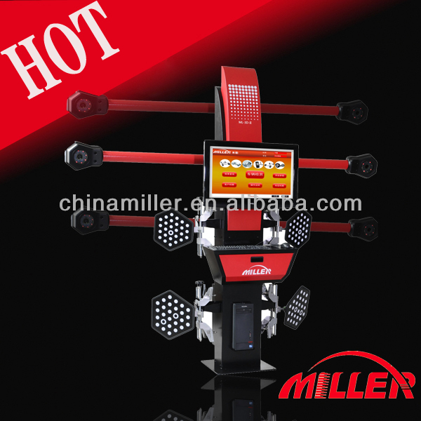 Hot sale!!! Lawrence 3d wheel alignment equipment