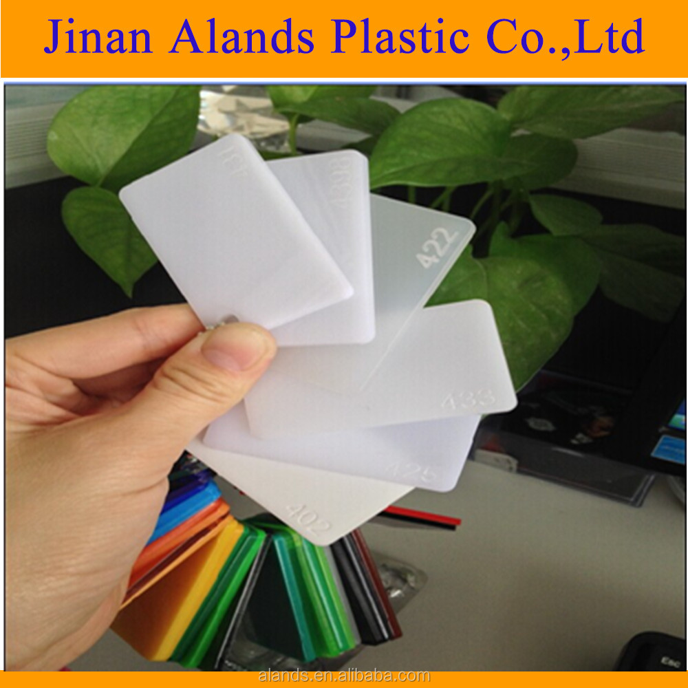 100% virgin pmma milk white color 3mm acrylic sheet