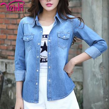 Ladies Fancy Jeans Top Brand Design