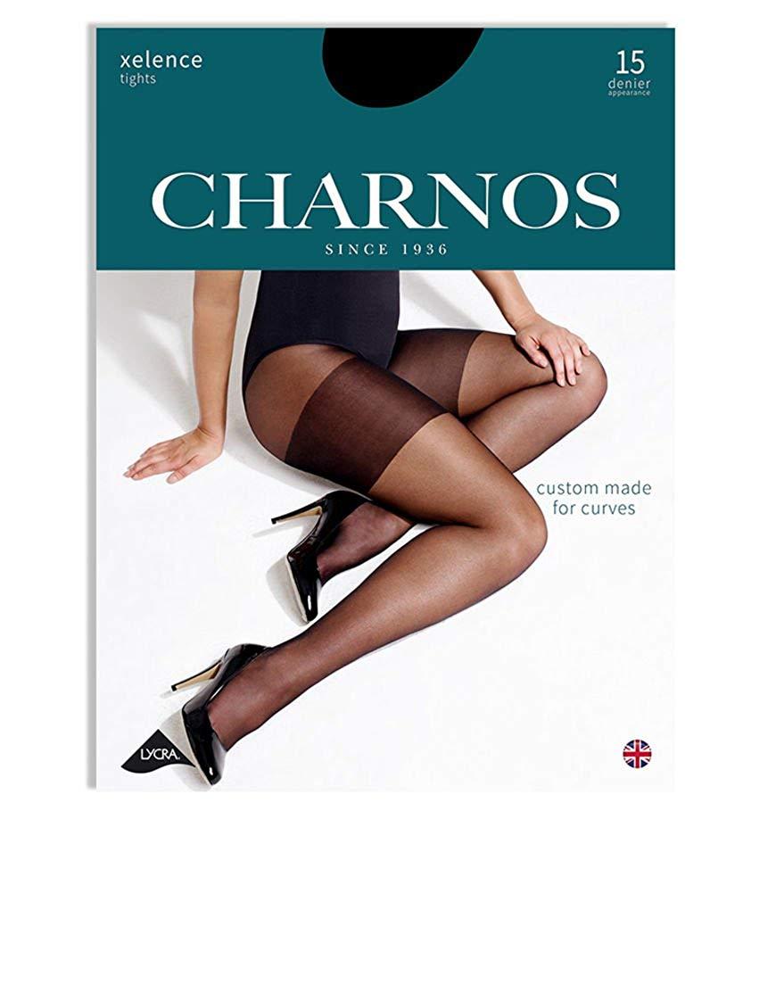 5a4e7c31e82 Get Quotations · Charnos Hosiery Womens Xelence 15 Denier Tights
