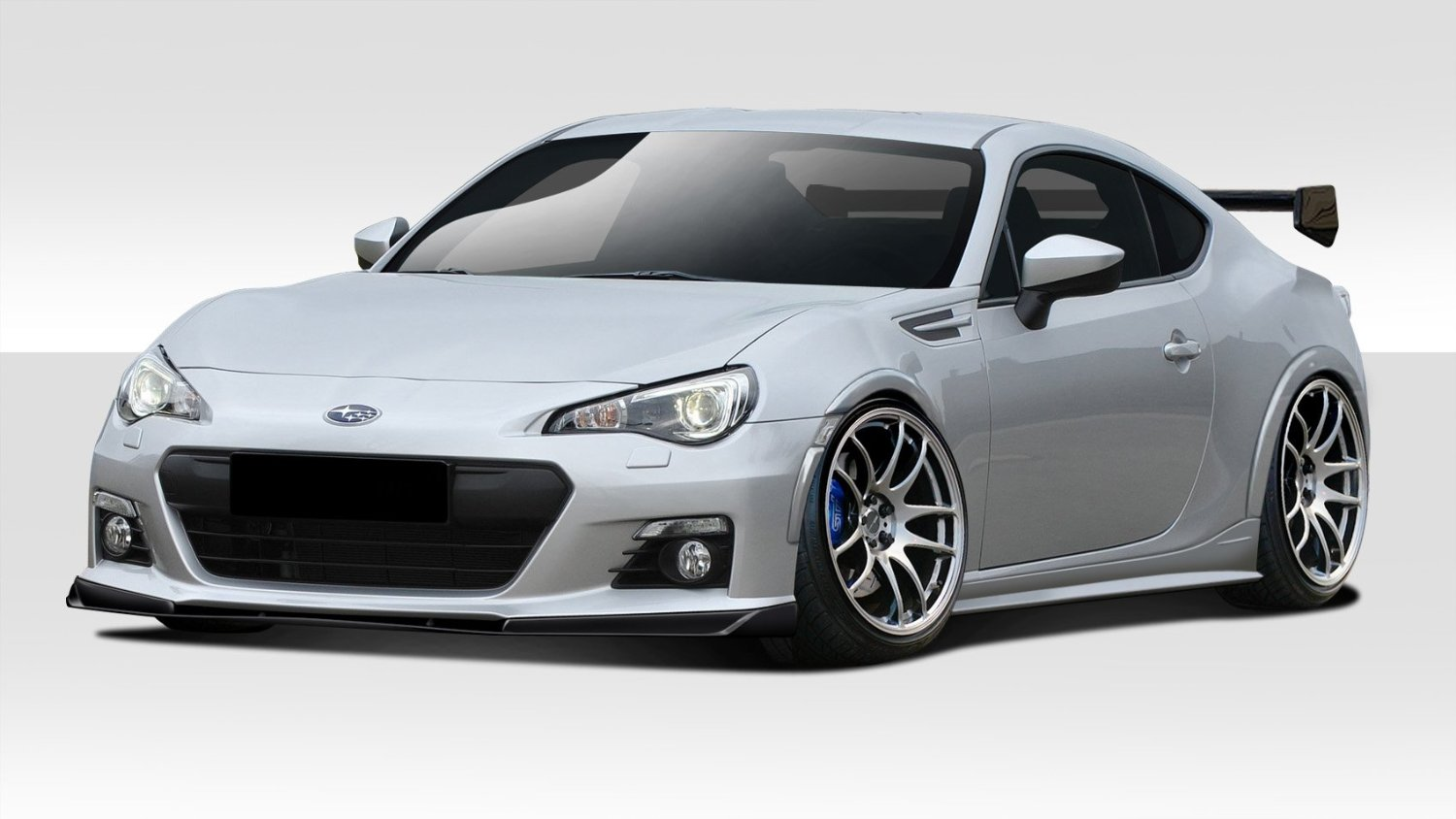 2013-2016 Subaru BRZ Duraflex Zeus Body Kit - 16 Piece - Includes Zeus Front Lip Under Air Dam Spoiler (109622) Zeus Side Skirt Rocker Panels (109623) Zeus Rear Add Ons (109624) Zeus Wing Trunk Lid Spoiler (109625) Zeus Fender Flares (112110)