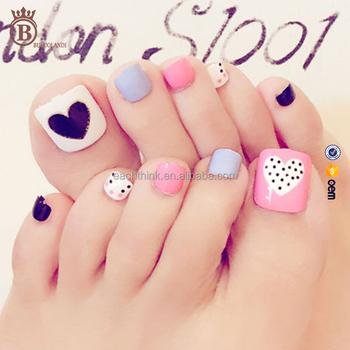 Summer Foot Decoration Toe Nail Art Fake Toenail Tips Buy Fake