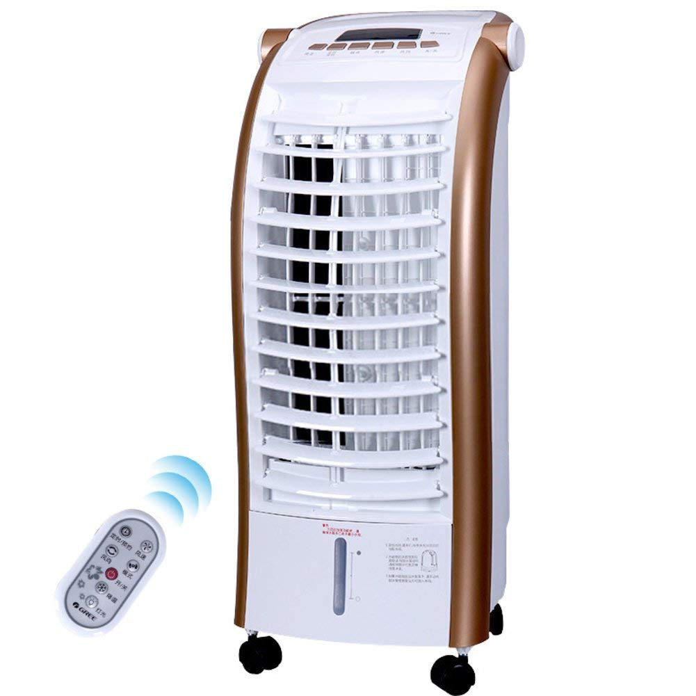 LIUSHIJITUAN Household Air Conditioner Fan,Mini Single-Cold Cold Fan Office Air Cooler Evaporative Coolers-A 75.5x30.5x33cm(30x12x13)