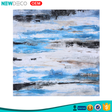 Newdeco brand sea wave design wholesale handpainted abstract painting