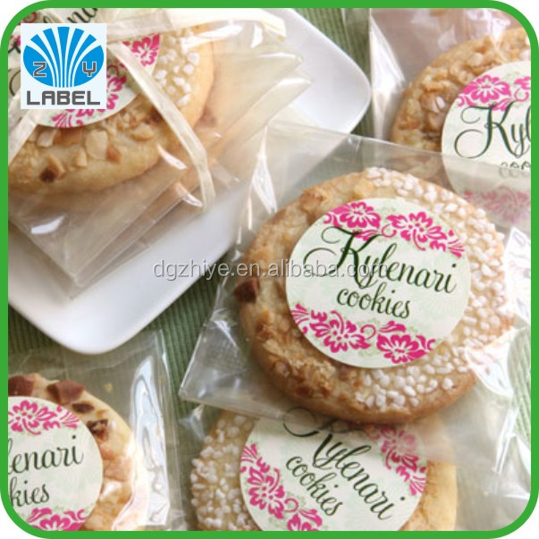 best price biscuits private label,fancy self adhesive biscuits private sticker label,biscuits private label with high quality