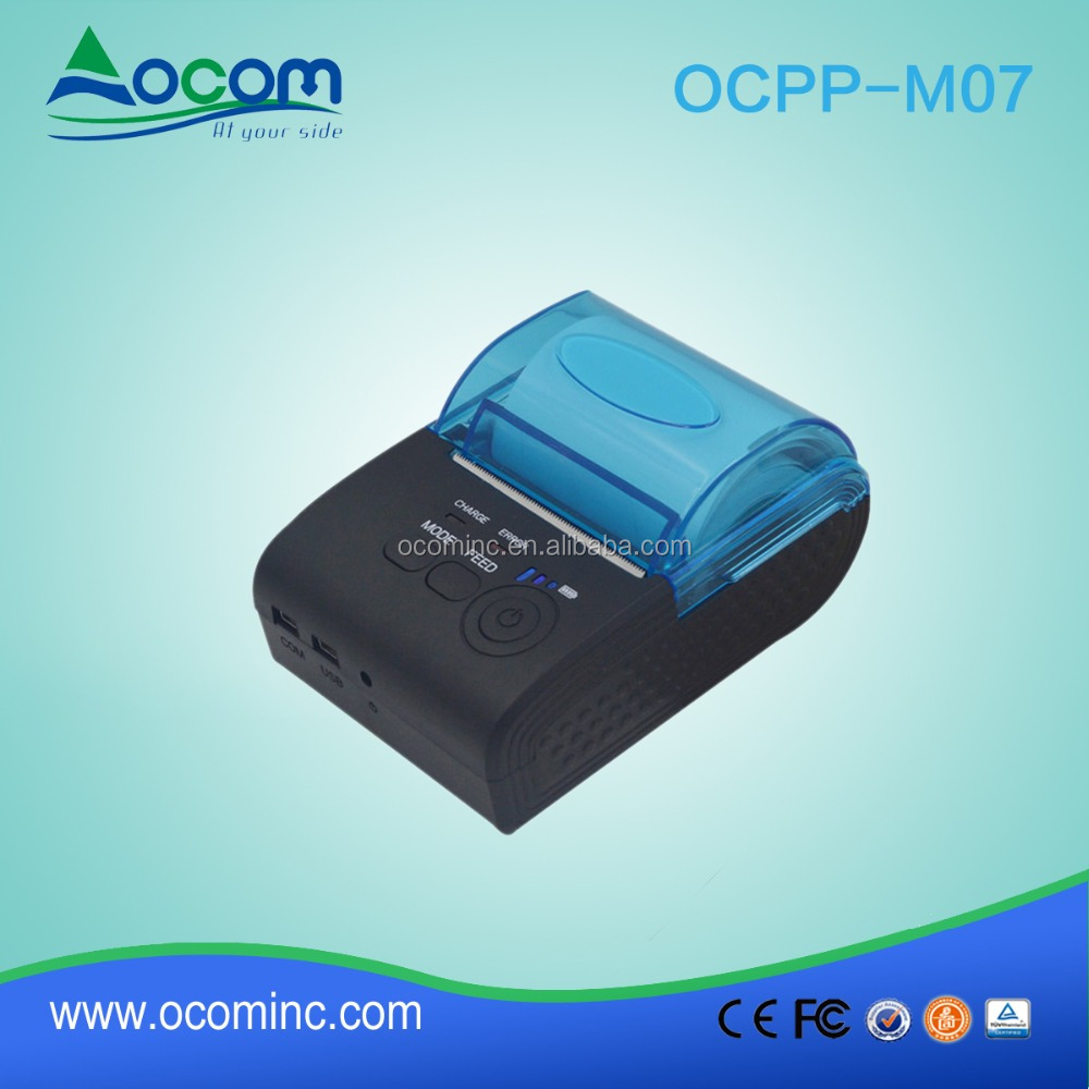 OCPP-M07 Taxi receipt pos printer drivers with car charger