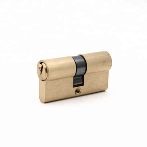 70mm Euro brass cylinder lock mortise lock cylinder manufactures