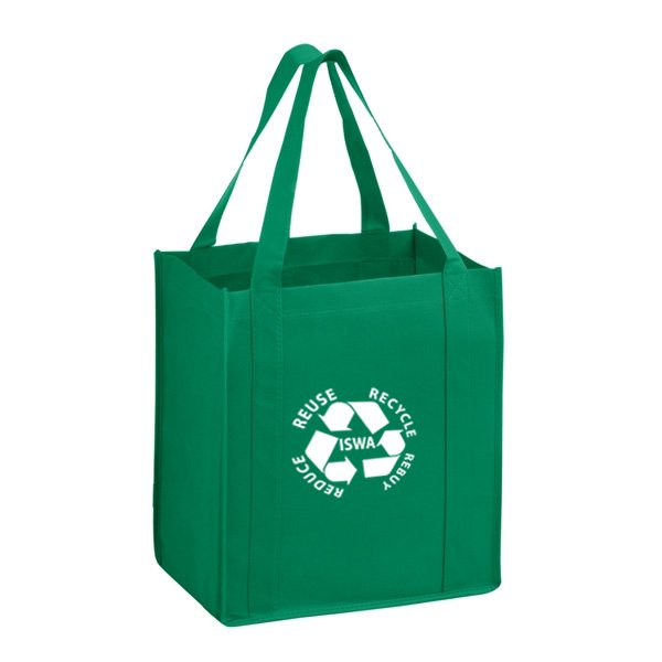 Wholesale promotional recyclable biodegradable reusable eco friendly ecological custom grocery non woven shopping tote carry bag