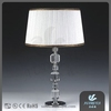 Indoor funky metal luminaire crystal table lamp