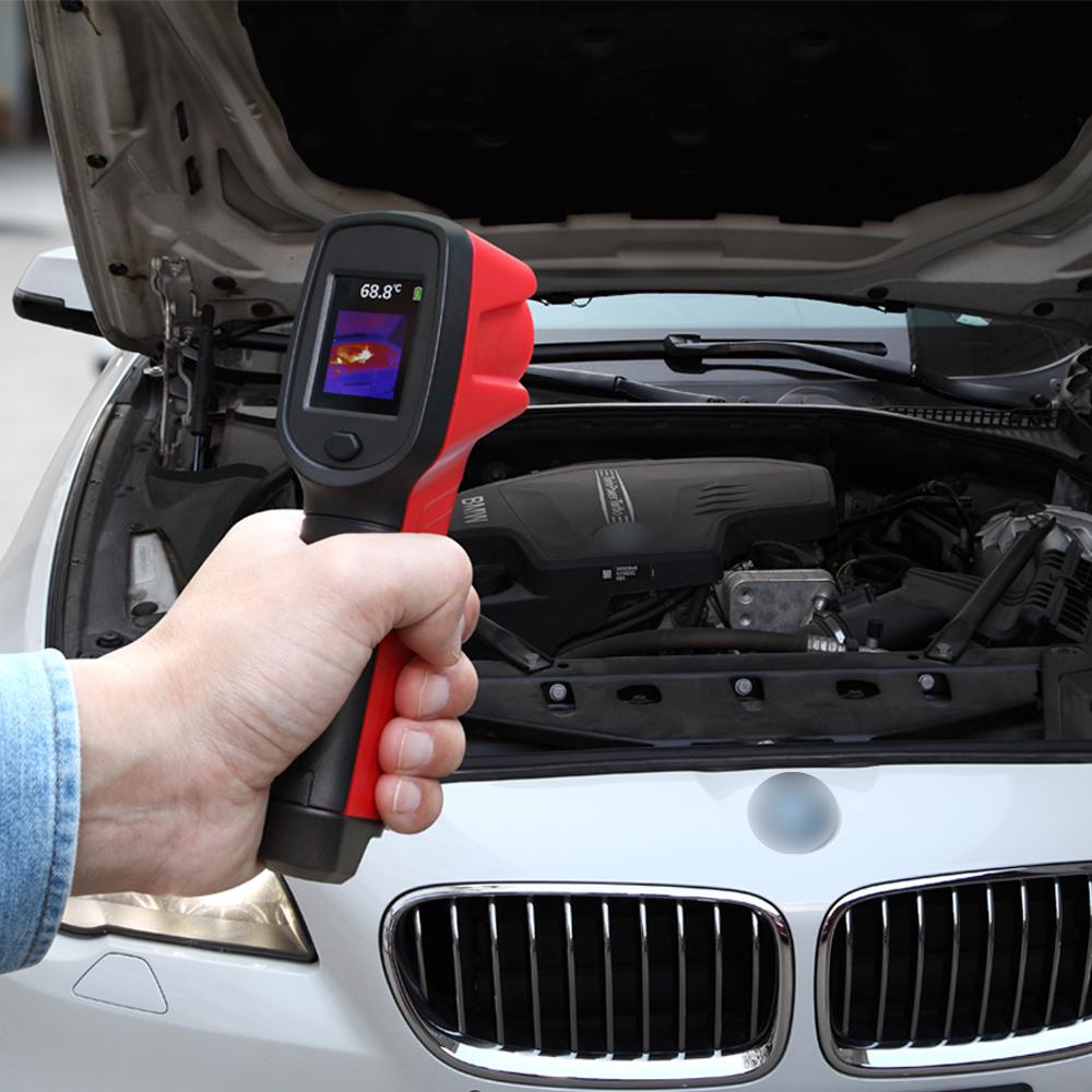 Efficacité professionnelle Réparation de Voiture de Caméra D'imagerie Thermique Portable