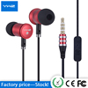 Wholesale Promotional Creative New Colorful Wired High Stereo Earphone for Mp3