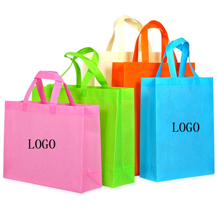 Ламинированная сумка для покупок из нетканого полипропилена с пользовательским логотипом