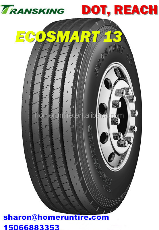 China Manufacturer 255/70/19.5 Tires for Heavy Trucks,TRANSKING Radial TBR/PCR/LTR 225 75r19.5 Tires with ECE, 215/75r17.5