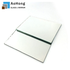 Tempered Glass with Mirror Coating with ISO BV CE Tempered Glass Mirror