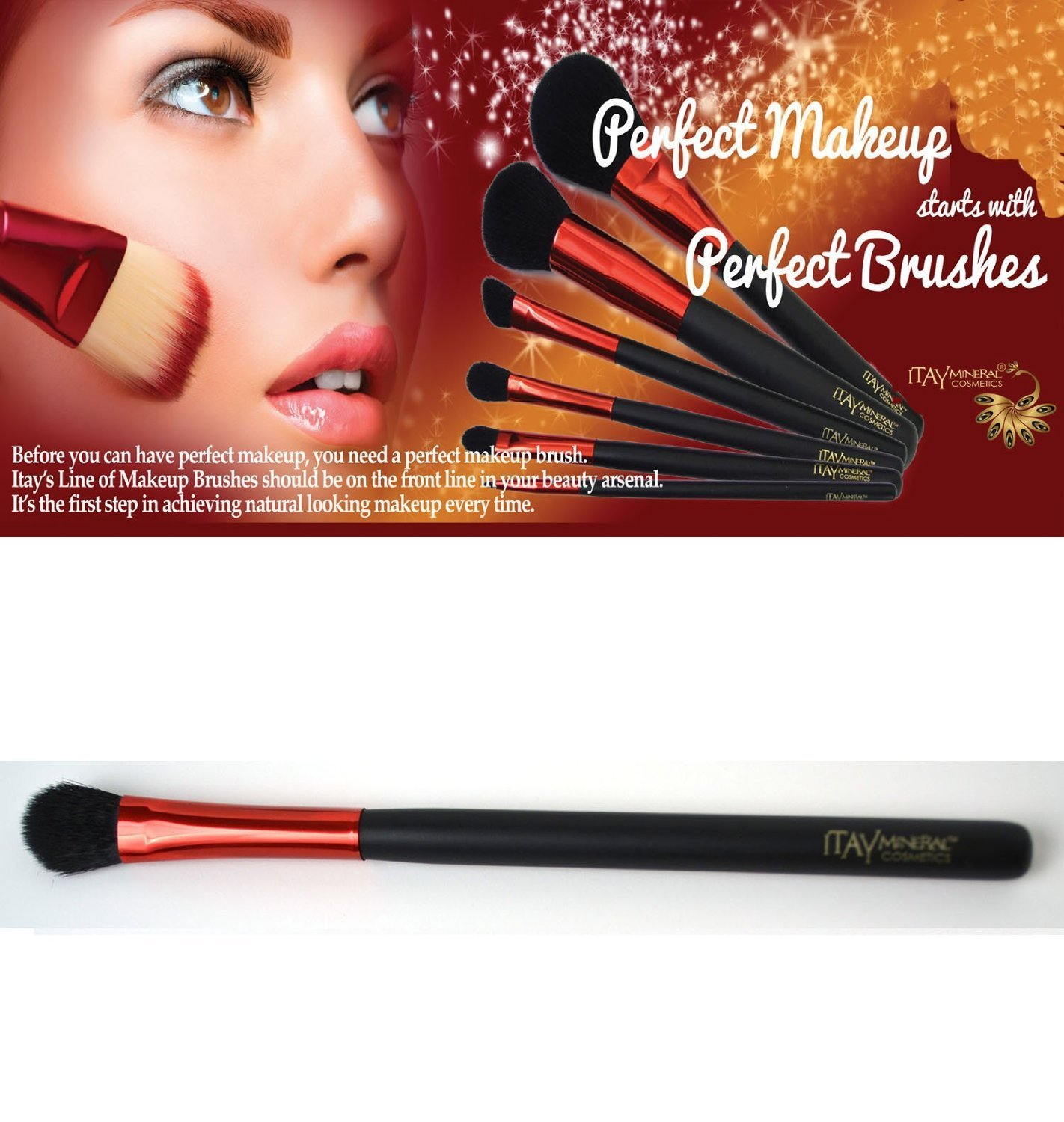 ITAY Mineral Cosmetics Makeup Brushes - Concealer Brush