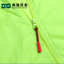 Travel bag accessories rubber pvc silicone locking zipper puller with string