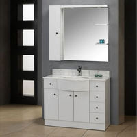 Wash hand basin with MDF cabinet
