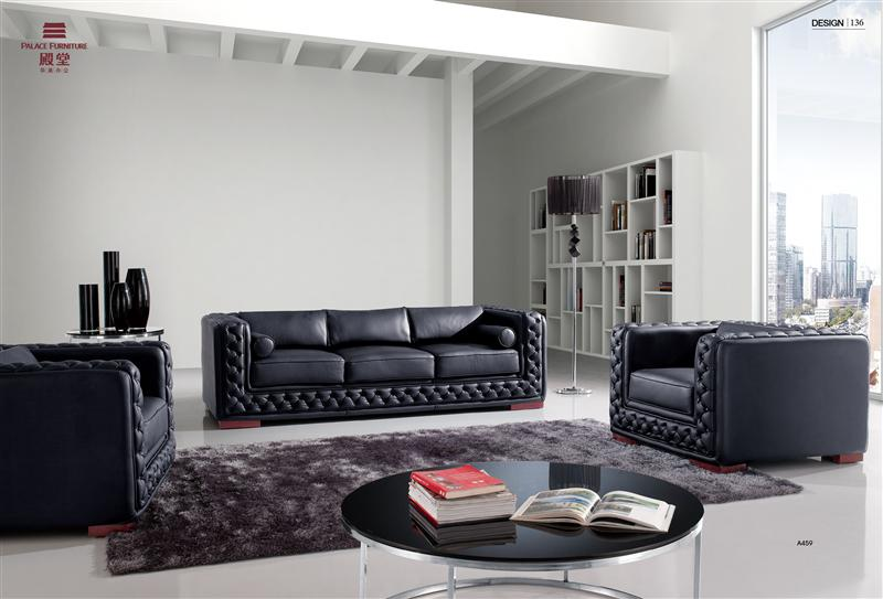 Navy Blue Leather Sofa, Navy Blue Leather Sofa Suppliers And Manufacturers  At Alibaba.com