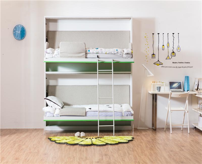 Etagenbett Platzsparend : Platzsparende möbel moderne faltwand bett murphy etagenbett buy