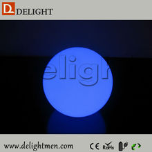 Outdoor Lighting llighted battery power RGBW waterproof glowing ball illumination