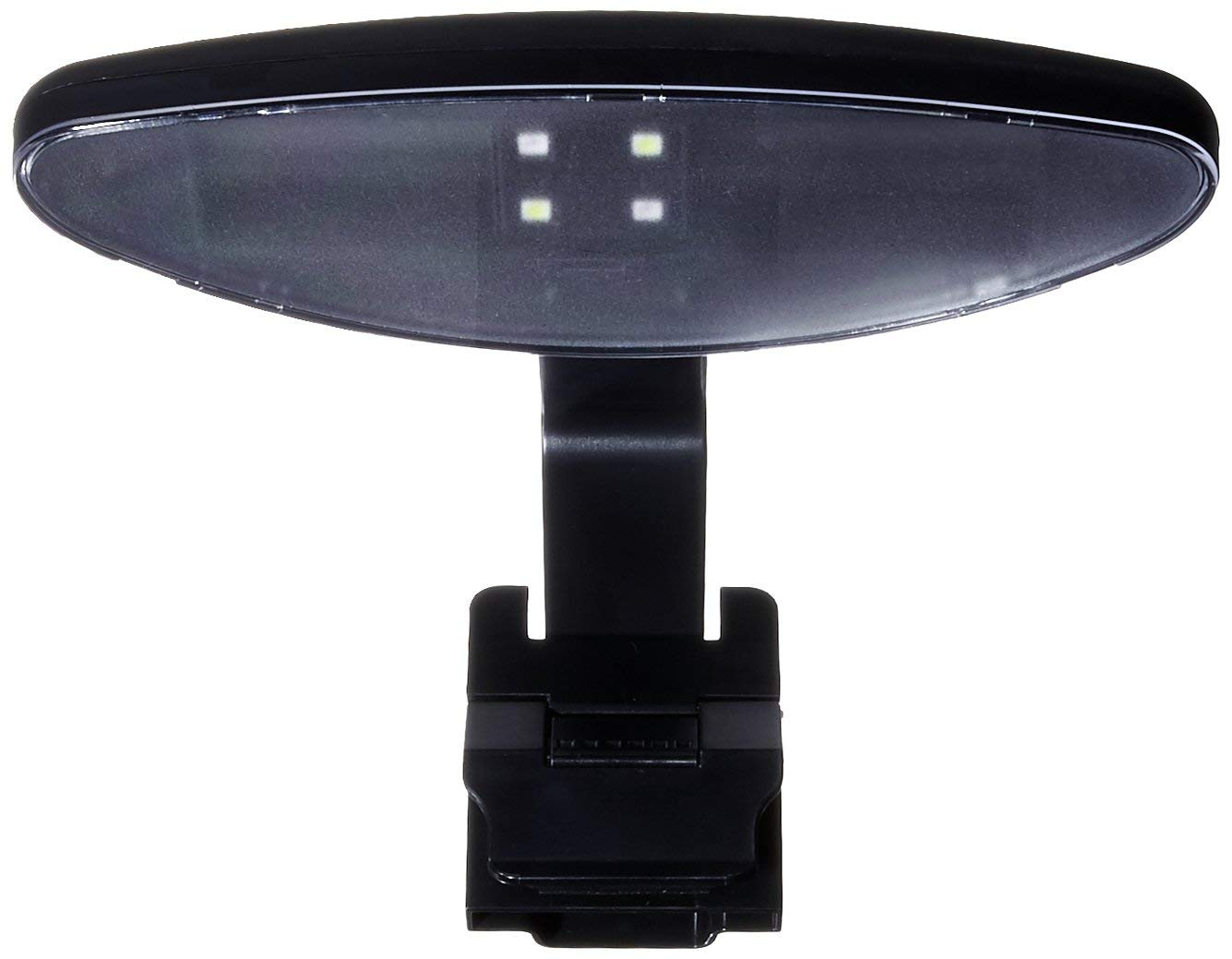 Elive Track Light LED Aquarium Fish Tank Mount, Holds up to 4 LED Pods, Long Lifetime, For Up to 10 Gallon Tanks, Includes One Pod