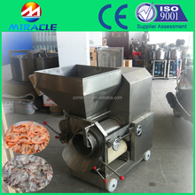 Machine for process peeling and deboning the fresh fish&shrimp&crab